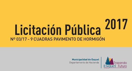 Licitación Pública 2017